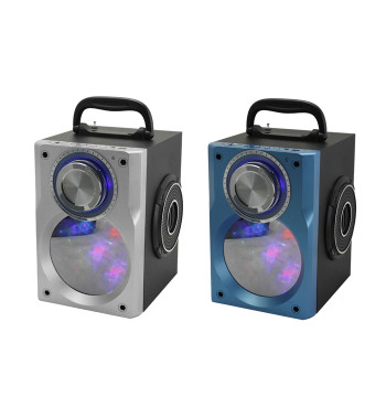 Altavoz Portatil Bluetooth con función Karaoke