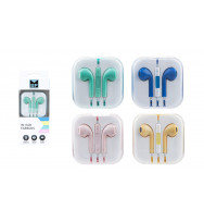 Auriculares In Ear con Micrófono y Control de Volumen y Pistas