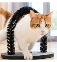 Rascador para gatos y arco masajeador Home Pet