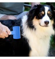 Cepillo aspirador quitapelos para mascotas
