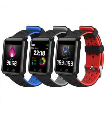 Smartwatch SW-582 de Smartek con tensiómetro, podómetro, medidor de actividad deportiva